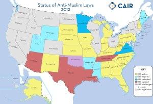 anti Shariah (phobic) laws 3.2012