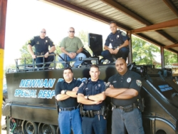 Police APC Newman