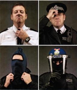 Police uniform options